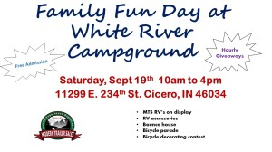 Family Fun Day at White River Campground