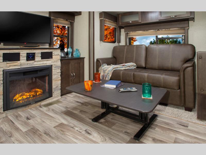 living room in springdale mini