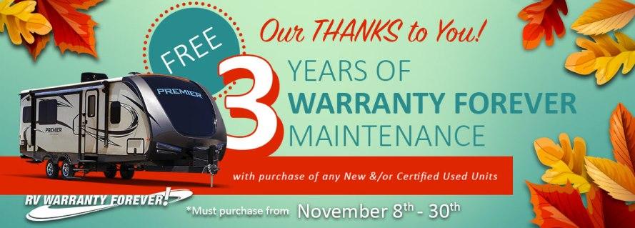 Warranty Forever Program